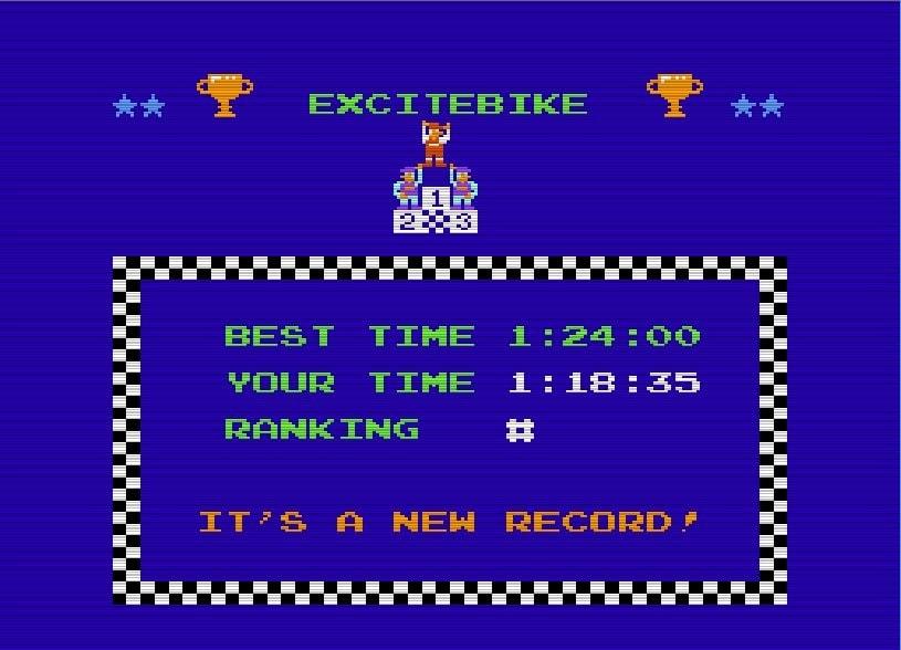 ファミコン『エキサイトバイク』36周年、エディットでクソコースを作りまくった日々の画像002