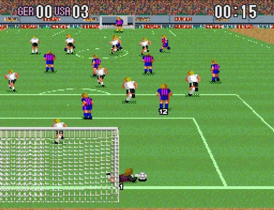 スーパーファミコン『スーパーフォーメーションサッカー』縦画面の画期的サッカーゲームにあった「2-3-5」の謎の画像002