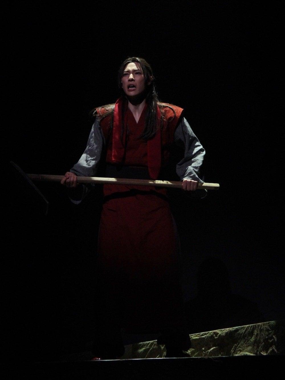生駒里奈・矢部昌暉、舞台『暁のヨナ』公開ゲネプロで華麗な舞&殺陣を披露!の画像005