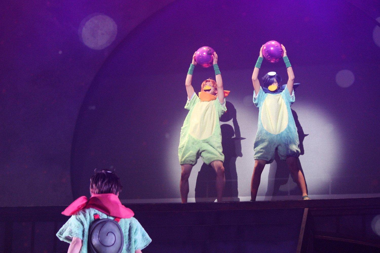 木津つばさらがカッパに! 幾原邦彦監督の世界観まま舞台『さらざんまい』公演開始の画像004