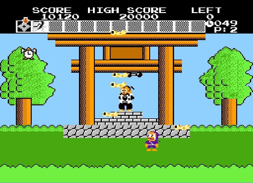 """ファミコン『忍者ハットリくん』35周年! ボーナス面の""""鉄アレイ""""が印象的な激ムズゲームの思い出の画像005"""