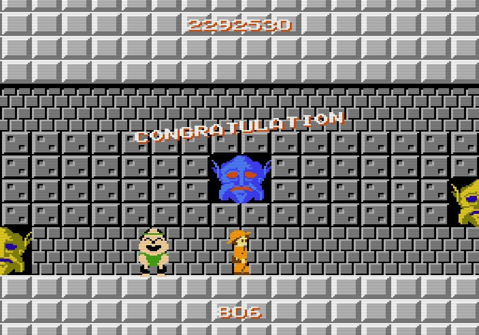 『アトランチスの謎』35周年、ファミコン屈指の難解ゲー「禁断のエンディング」最短ルートの画像005