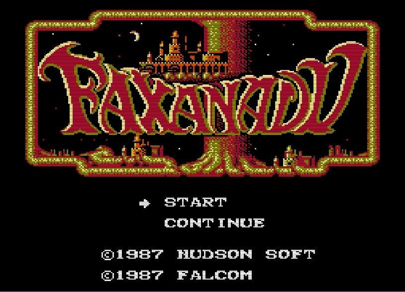 日本ファルコムの傑作『ザナドゥ』を大幅改変したファミコンソフト『ファザナドゥ』の評価は正当だったのか!?の画像001