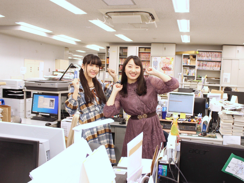A応P・堤雪菜&工藤ひなきが『つぐもも』編集部を訪問! BL漫画の生ネームに興奮!の画像004