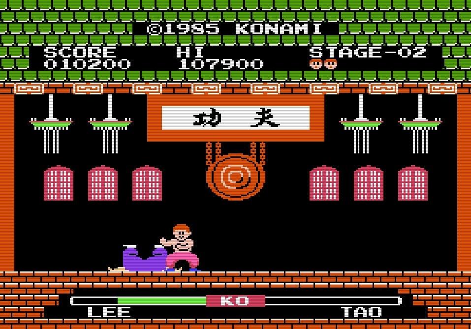 『イー・アル・カンフー』から35年…コナミ初のファミコンソフトは対戦格闘ゲーム!の画像002