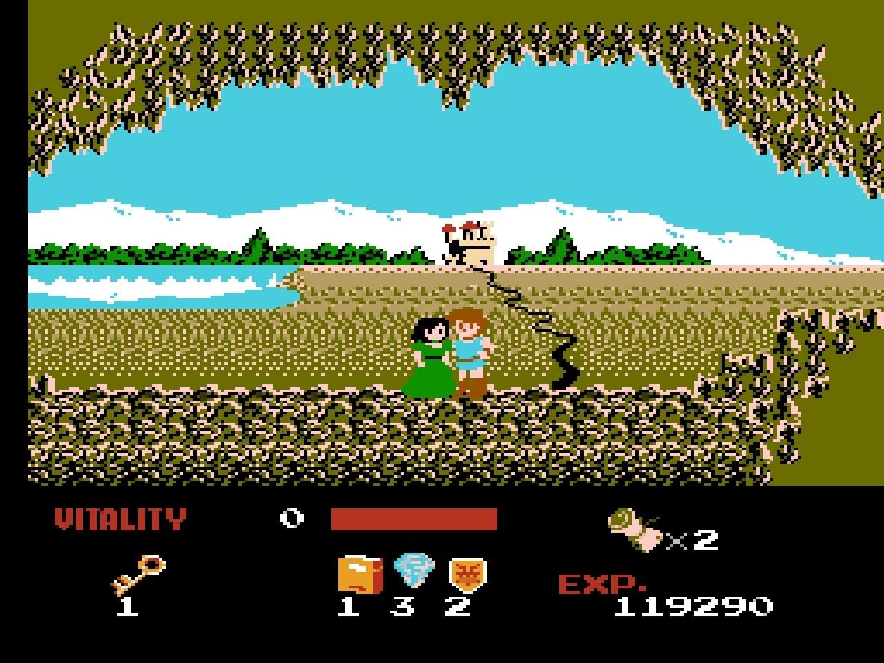 ファミコン版『ドラゴンバスター』金色に輝くカセットに詰まった「2段ジャンプ」「兜割り」習得の記憶の画像005