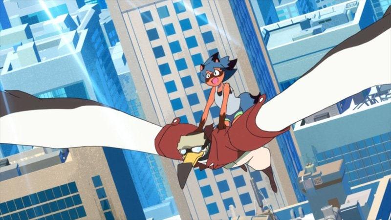 アニメ『BNA ビー・エヌ・エー』空から降ってきたのは渡り鳥獣人!? 第7話先行カット公開の画像003
