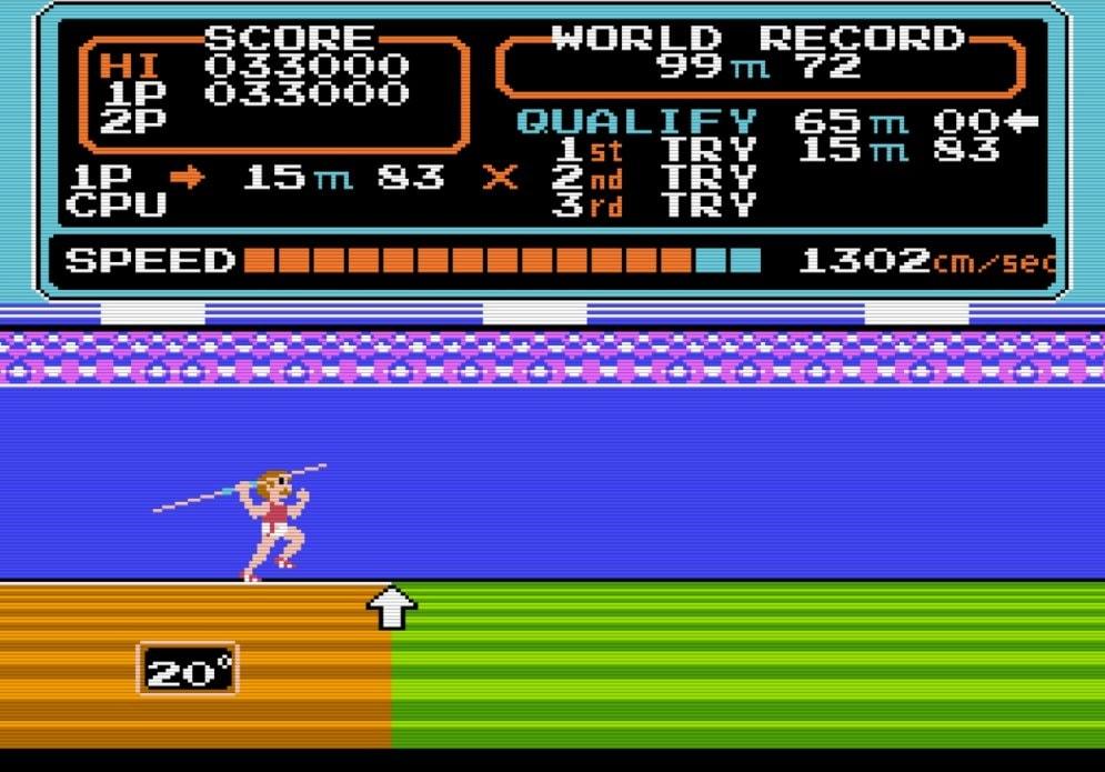 コナミのファミコンソフト『ハイパーオリンピック』で五輪ロス解消? 世界記録樹立のために試行錯誤した懐かしき記憶の画像006