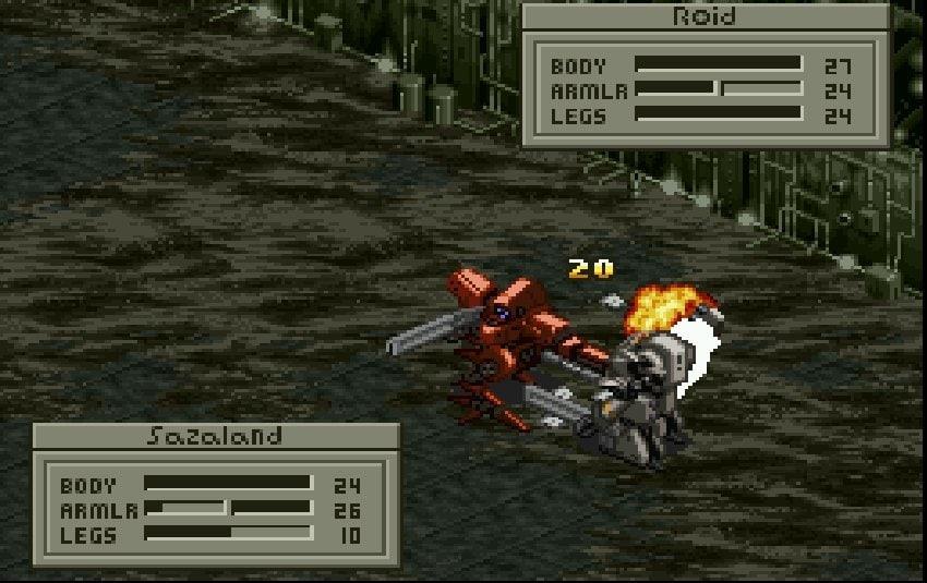 スーパーファミコン『フロントミッション』の画期的世界観! シミュレーションRPGの固定観念を変えた!?の画像004