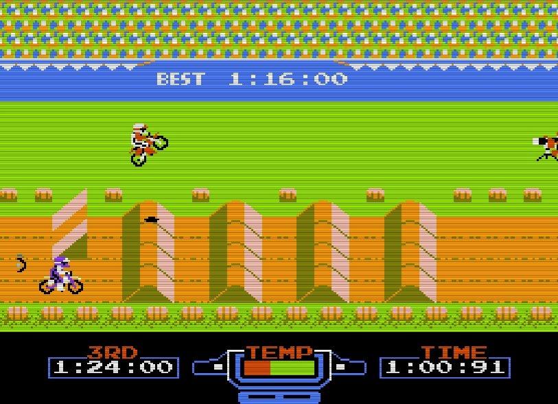 ファミコン『エキサイトバイク』36周年、エディットでクソコースを作りまくった日々の画像008