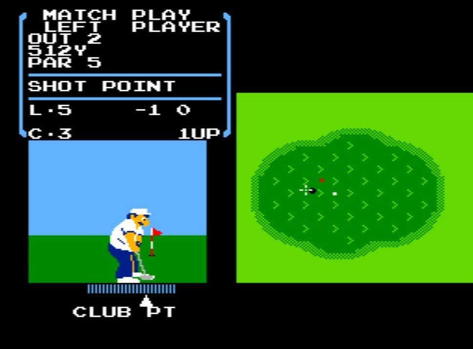 風を読み、芝を把握する…ファミコン初期の名作『ゴルフ』が昭和のおじさんを熱狂させたワケの画像006