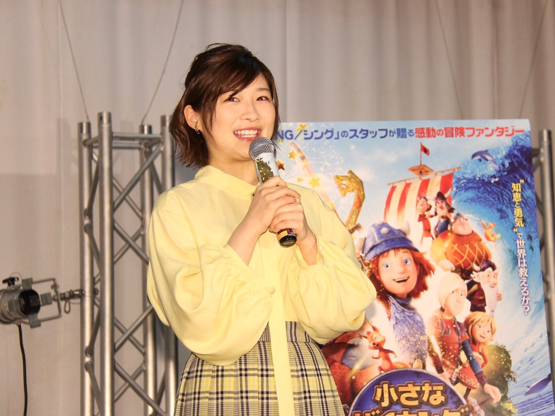 伊藤沙莉が映画『小さなバイキングビッケ』公開アフレコに参加、自粛期間は自宅カラオケで「歌ってました」の画像003