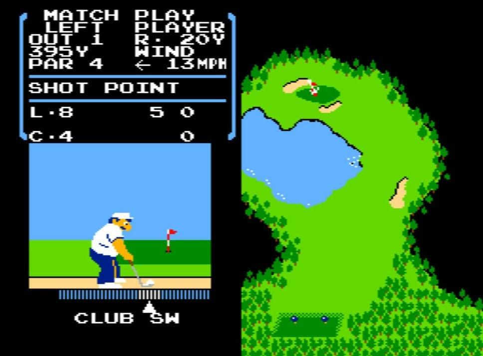 風を読み、芝を把握する…ファミコン初期の名作『ゴルフ』が昭和のおじさんを熱狂させたワケの画像007