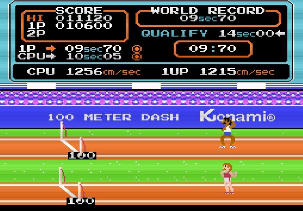 コナミのファミコンソフト『ハイパーオリンピック』で五輪ロス解消? 世界記録樹立のために試行錯誤した懐かしき記憶の画像003