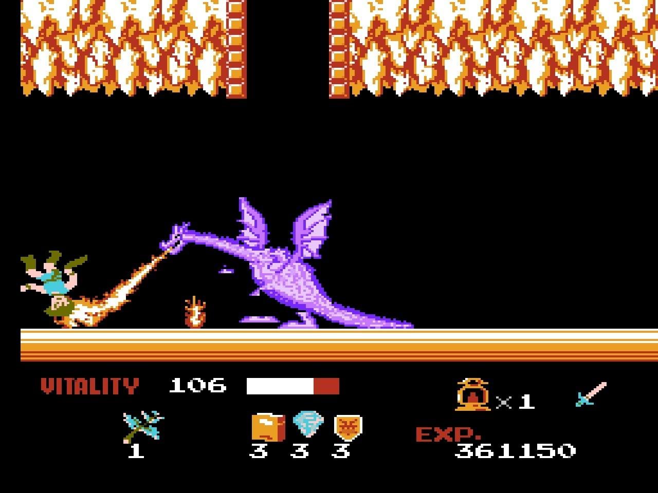 ファミコン版『ドラゴンバスター』金色に輝くカセットに詰まった「2段ジャンプ」「兜割り」習得の記憶の画像004