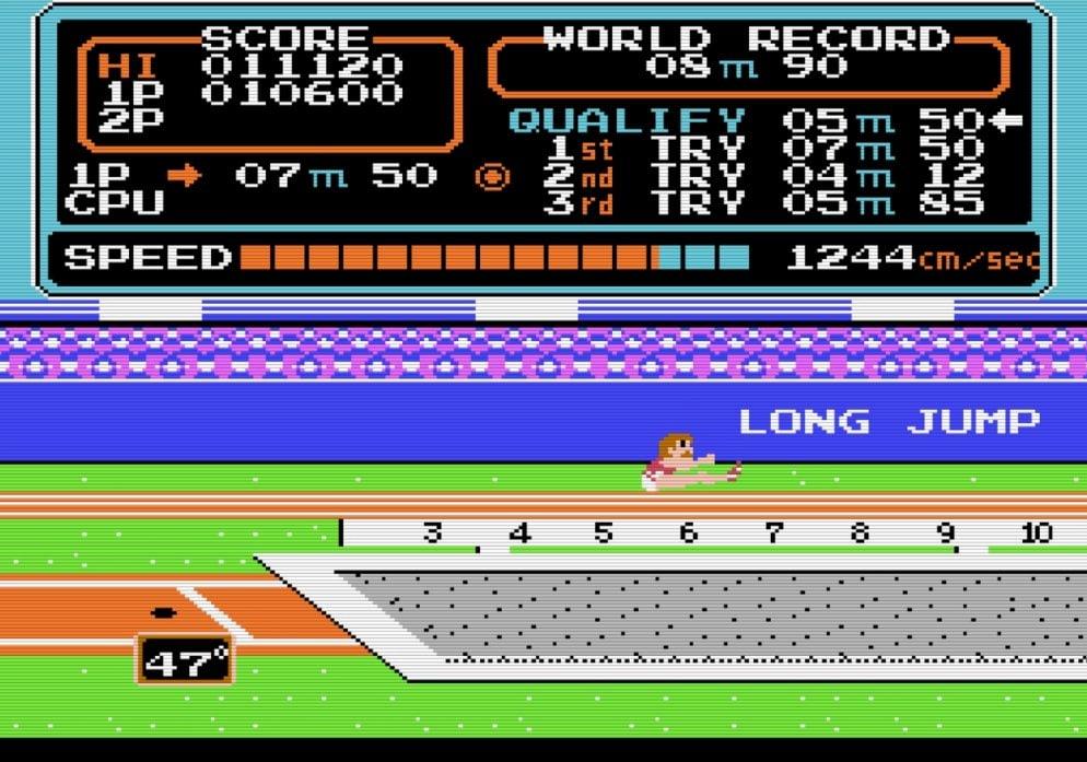 コナミのファミコンソフト『ハイパーオリンピック』で五輪ロス解消? 世界記録樹立のために試行錯誤した懐かしき記憶の画像004