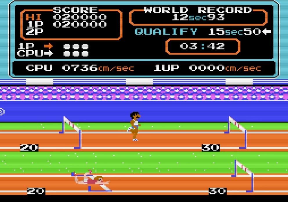 コナミのファミコンソフト『ハイパーオリンピック』で五輪ロス解消? 世界記録樹立のために試行錯誤した懐かしき記憶の画像005