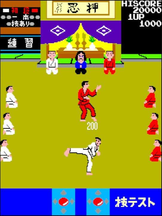 「さあ牛だ!」インパクト爆盛りアーケードゲーム『空手道』は対戦格闘ゲームの基礎を築いた名作だったの画像008