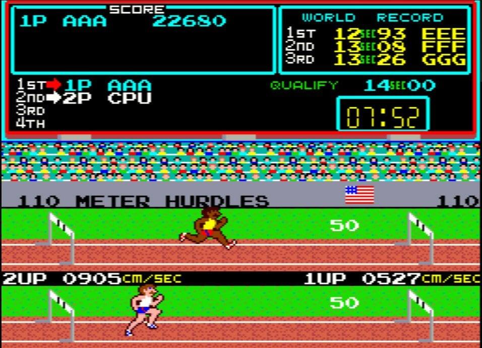 定規を使ってカール・ルイスを目指せ! 連打でボタンを破壊したアーケードゲーム『ハイパーオリンピック』の過酷さの画像002