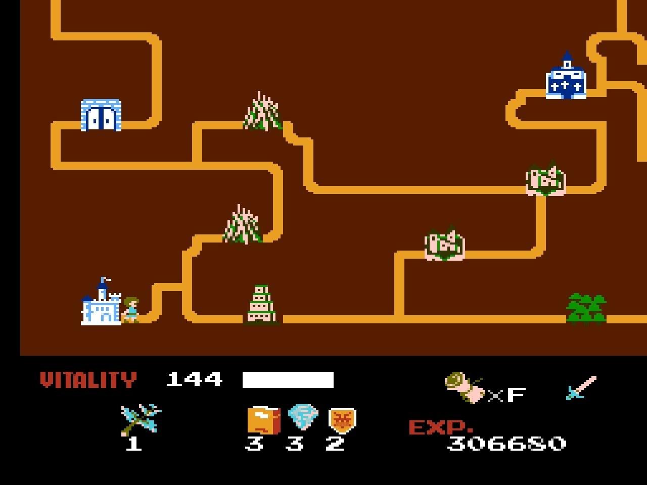 ファミコン版『ドラゴンバスター』金色に輝くカセットに詰まった「2段ジャンプ」「兜割り」習得の記憶の画像008