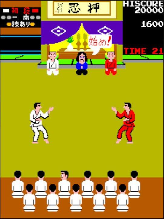 「さあ牛だ!」インパクト爆盛りアーケードゲーム『空手道』は対戦格闘ゲームの基礎を築いた名作だったの画像006