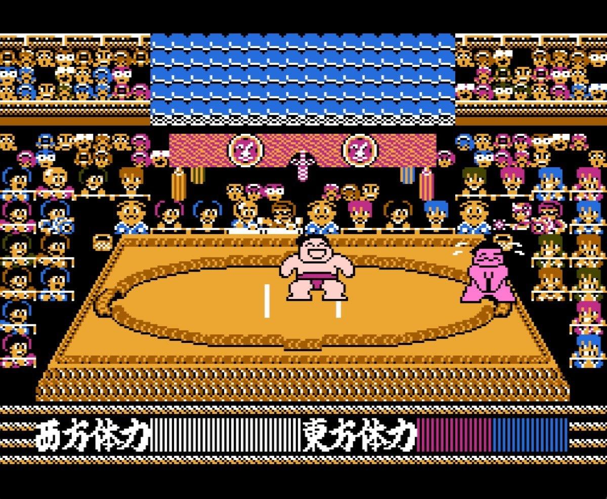 幕下から這い上がる苦しみ…ファミコン『つっぱり大相撲』に詰まった相撲の醍醐味の画像011