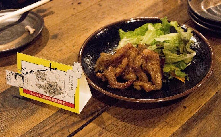 オオグソクムシってどんな味!? 人気コミック『桐谷さん ちょっそれ食うんすか!?』のメニューを期間限定販売!の画像004