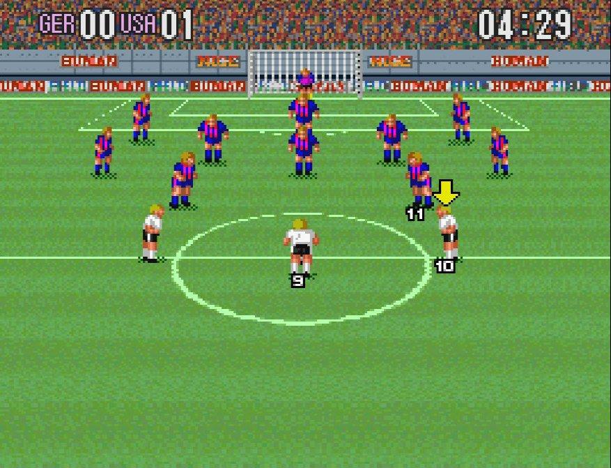 スーパーファミコン『スーパーフォーメーションサッカー』縦画面の画期的サッカーゲームにあった「2-3-5」の謎の画像003