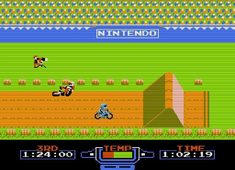 ファミコン『エキサイトバイク』36周年、エディットでクソコースを作りまくった日々の画像005