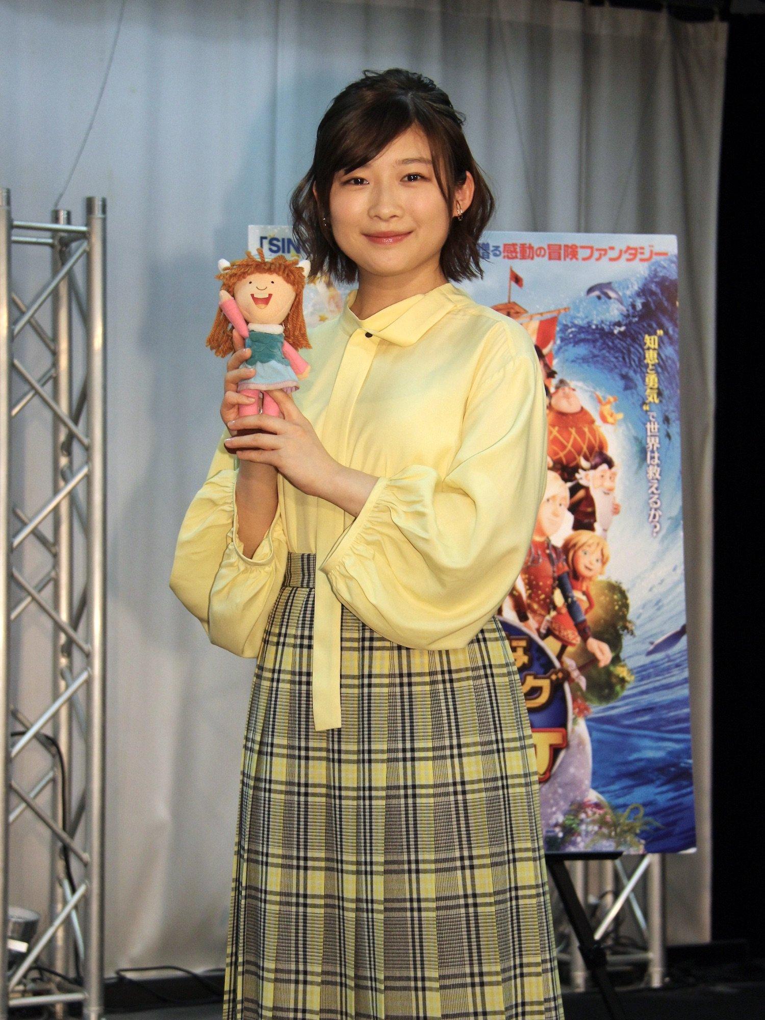 伊藤沙莉が映画『小さなバイキングビッケ』公開アフレコに参加、自粛期間は自宅カラオケで「歌ってました」の画像005