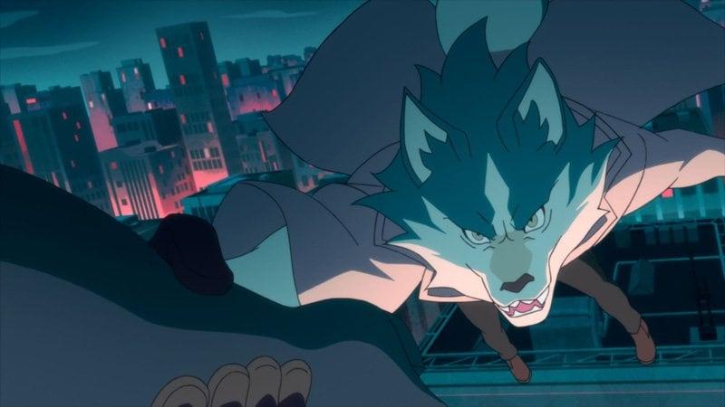 アニメ『BNA ビー・エヌ・エー』空から降ってきたのは渡り鳥獣人!? 第7話先行カット公開の画像007