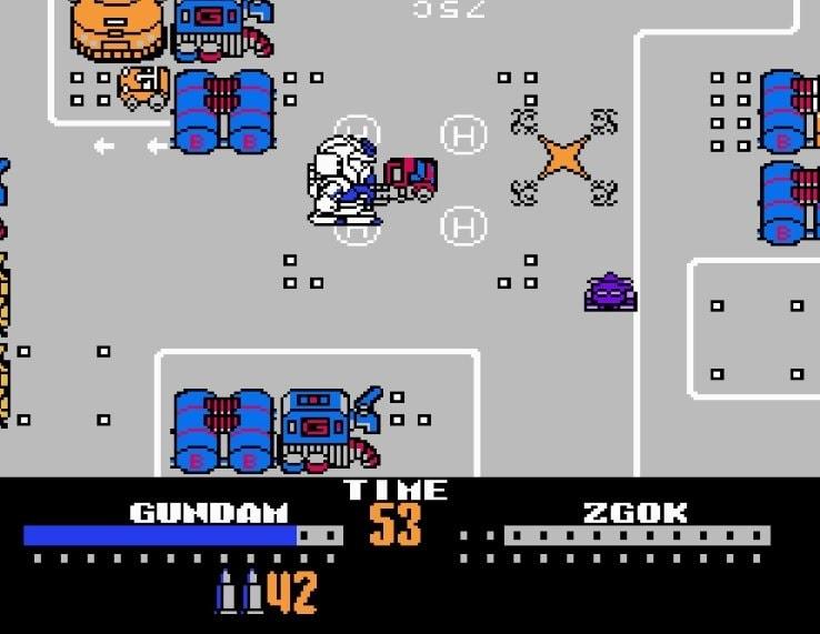 ガンダムゲーム「史上最高傑作」は、ファミコン『ガチャポン戦士2カプセル戦記』【フジタのコラム】の画像007