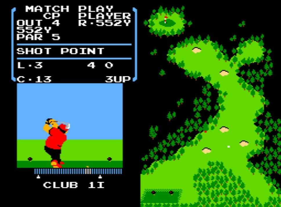 風を読み、芝を把握する…ファミコン初期の名作『ゴルフ』が昭和のおじさんを熱狂させたワケの画像004
