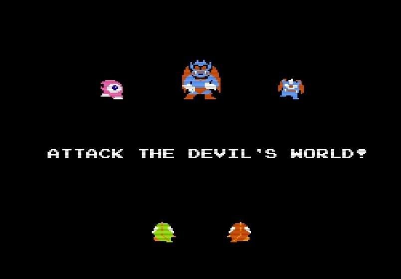 挟まれて死ぬ恐怖…ファミコン初期の個人的トラウマゲー『デビルワールド』の思い出の画像008