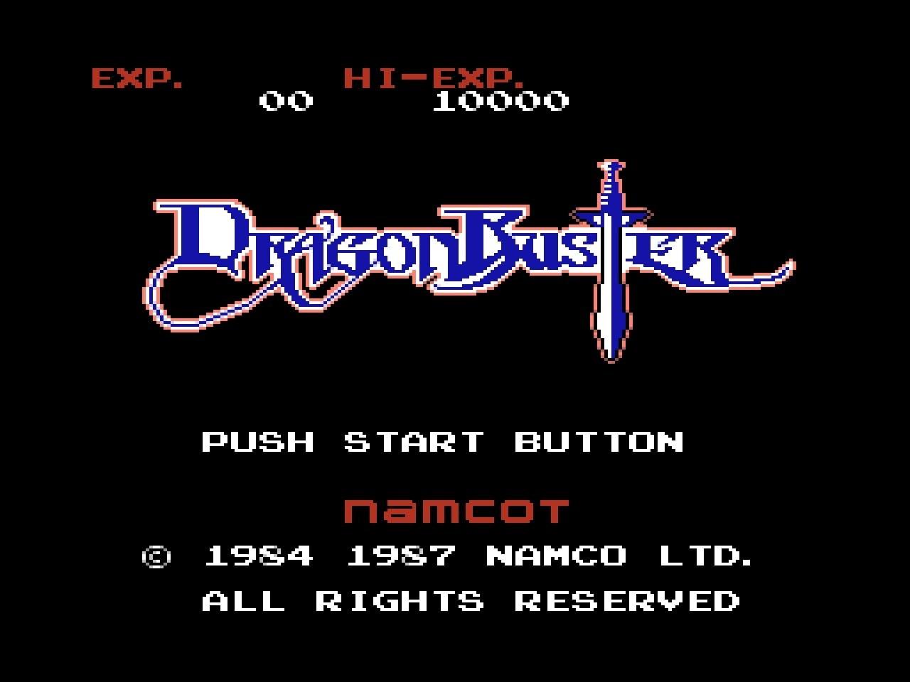 ファミコン版『ドラゴンバスター』金色に輝くカセットに詰まった「2段ジャンプ」「兜割り」習得の記憶の画像001