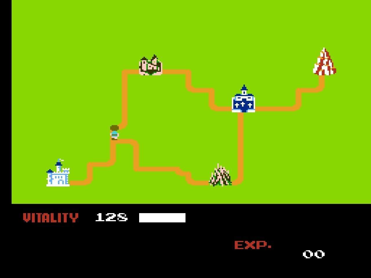 ファミコン版『ドラゴンバスター』金色に輝くカセットに詰まった「2段ジャンプ」「兜割り」習得の記憶の画像002