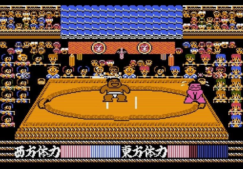 """""""もろだし""""の衝撃、ファミコン『つっぱり大相撲』で格ゲーばりの駆け引きを知った記憶の画像010"""