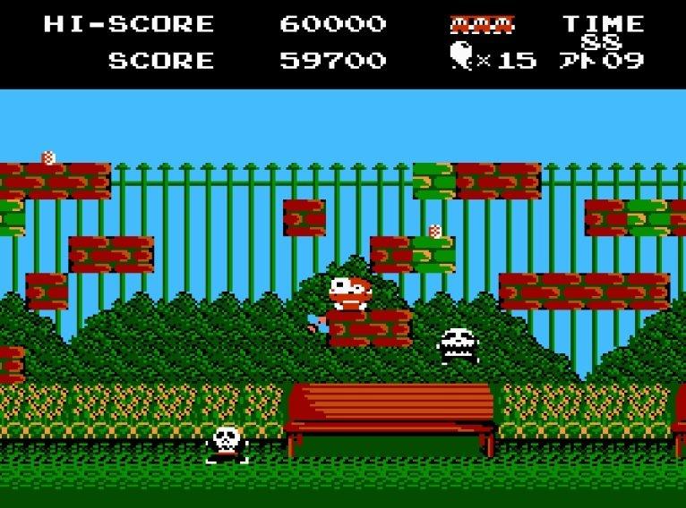 ファミコン『じゃじゃ丸の大冒険』はジャレコならではの「鬼畜遺伝子」を継承した激ムズアクション!の画像005