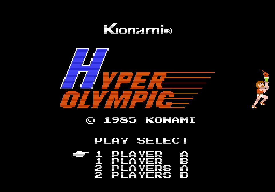 カプセルや定規は必須!?「連射力がモノをいう」ファミコン版『ハイパーオリンピック』との死闘の画像001