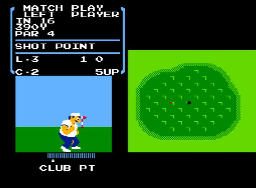 風を読み、芝を把握する…ファミコン初期の名作『ゴルフ』が昭和のおじさんを熱狂させたワケの画像002