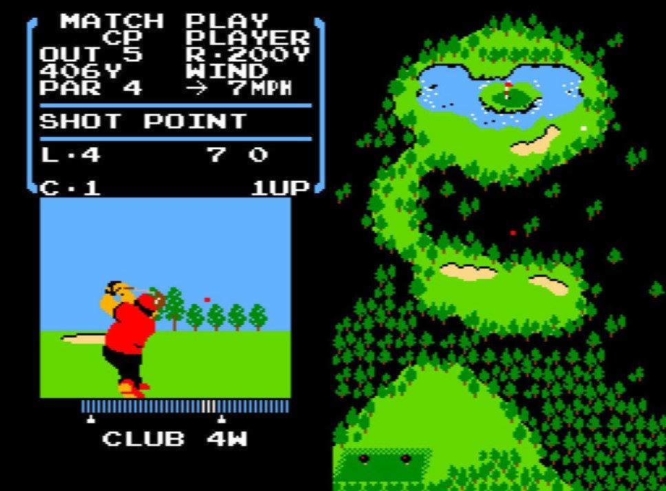 風を読み、芝を把握する…ファミコン初期の名作『ゴルフ』が昭和のおじさんを熱狂させたワケの画像005