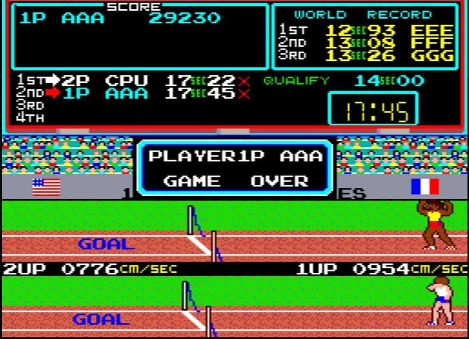 定規を使ってカール・ルイスを目指せ! 連打でボタンを破壊したアーケードゲーム『ハイパーオリンピック』の過酷さの画像007