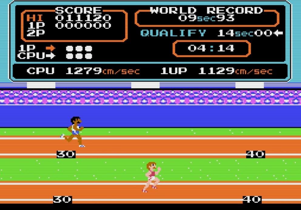 コナミのファミコンソフト『ハイパーオリンピック』で五輪ロス解消? 世界記録樹立のために試行錯誤した懐かしき記憶の画像002