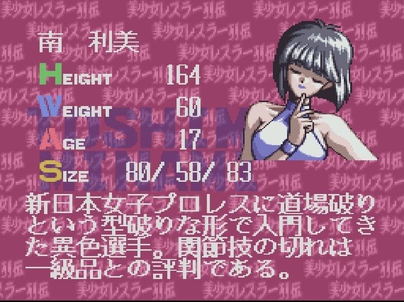 『レッスルエンジェルス』ファン愕然!? スーパーファミコン末期の傑作『美少女レスラー列伝』が埋もれてしまったワケの画像002