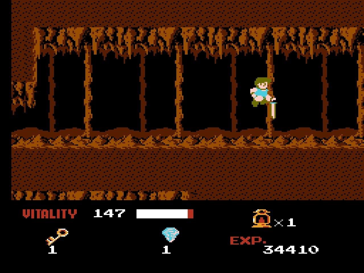 ファミコン版『ドラゴンバスター』金色に輝くカセットに詰まった「2段ジャンプ」「兜割り」習得の記憶の画像003