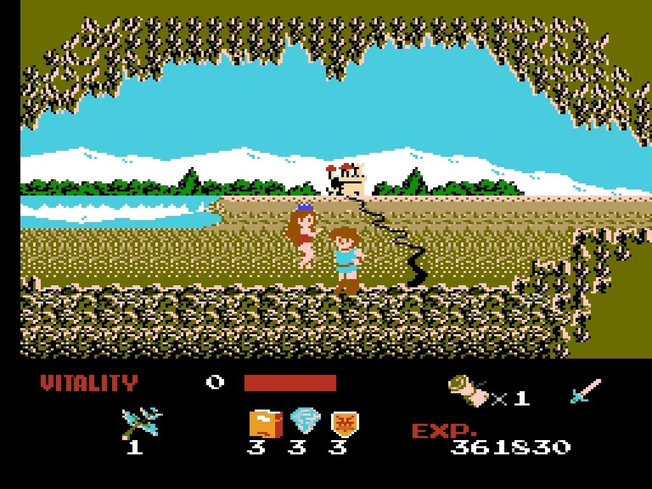 ファミコン版『ドラゴンバスター』金色に輝くカセットに詰まった「2段ジャンプ」「兜割り」習得の記憶の画像009